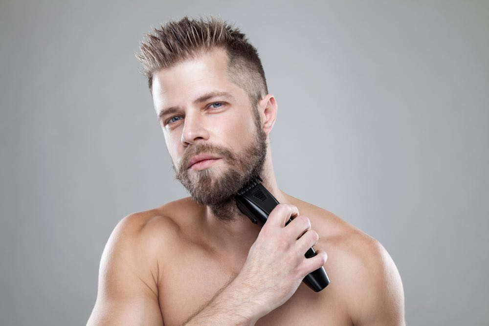Bart trimmen