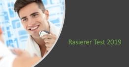 Rasierer Test