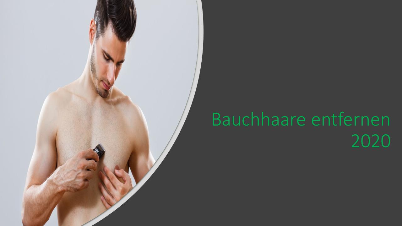 Bauchhaare entfernen - was mann beachten sollte