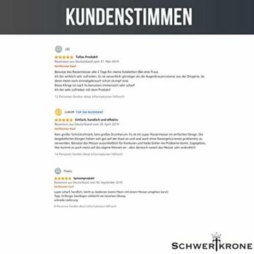 Schwertkrone Rasiermesser -